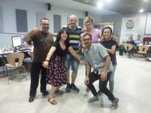 Foto del equipo del Hackton WP Cáceres