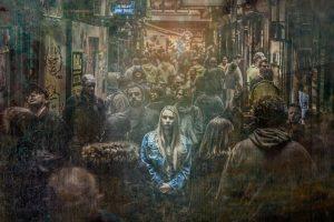 woman, alone, crowd-2666433.jpg